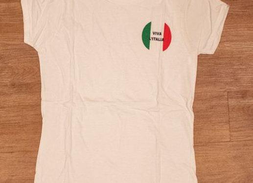 Viva L'Italia T-Shirt - White