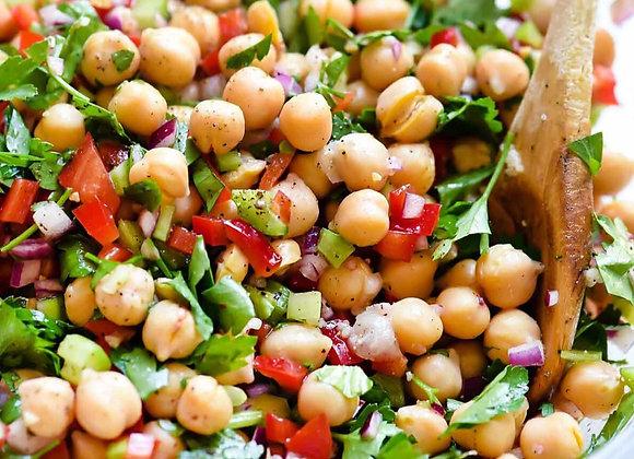 Chickpea & Kale Salad