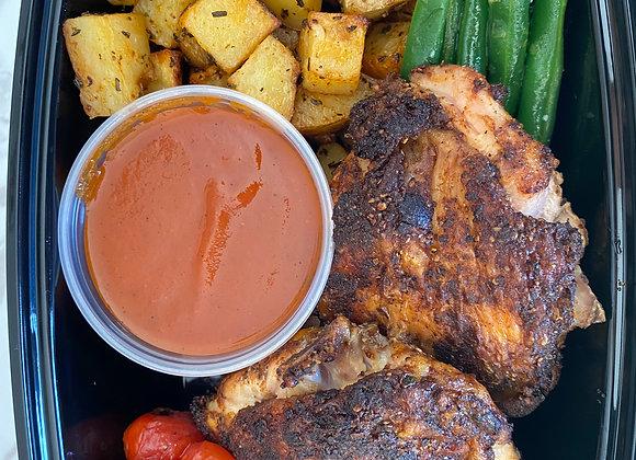 BBQ Spiced Roasted Chicken