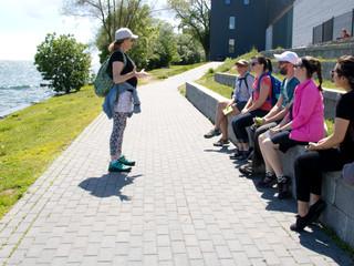 Aqua Viva community art project underway for Canada 150