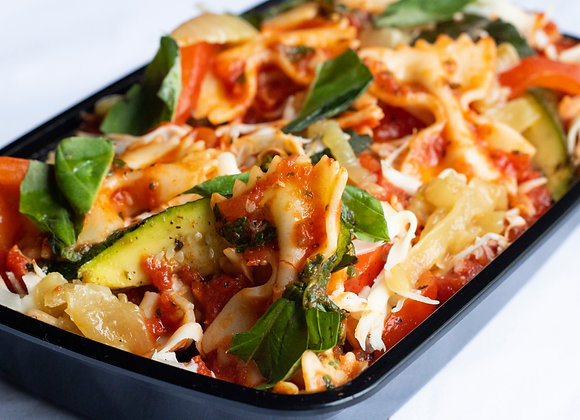 Farfalle & Zucchini Pomodoro