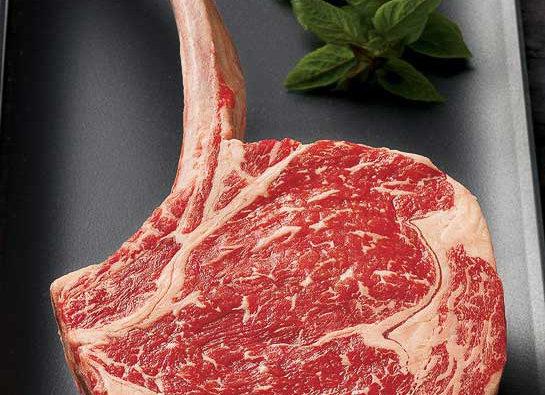Dry Aged Bone-In Rib Eye Steak (35-40oz Cut) BBQ Kit
