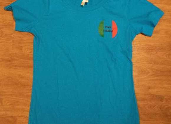 Viva L'Italia T-Shirt - Blue