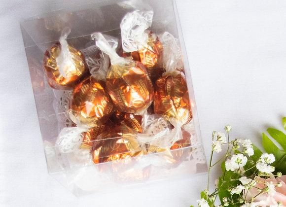 Box of Donini Hazelnut Chocolate Truffles