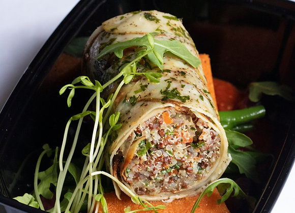 Quinoa Potato Wrapped Cannelloni