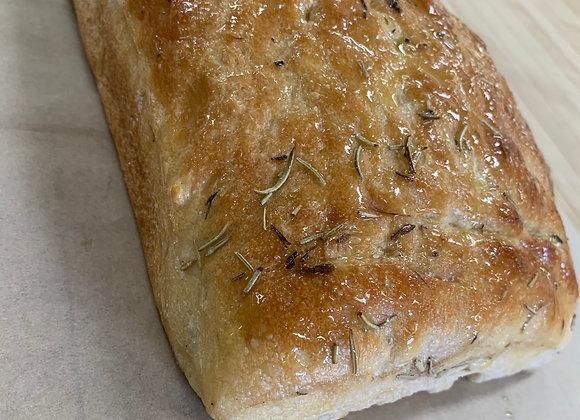 Focaccia Bread Loaf