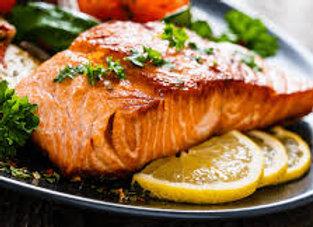 BBQ Spiced Roasted Salmon