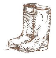 Encinitas, CA Garden Nursery Boots