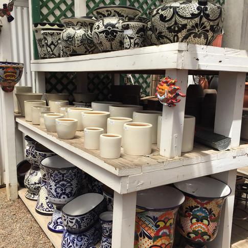Pottery for Indoor & Outdoor