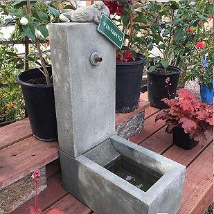 Encinitas Garden Nursery Store with Water Fountains