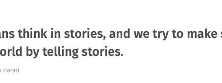 Storytelling mit einer wahren Brand Story