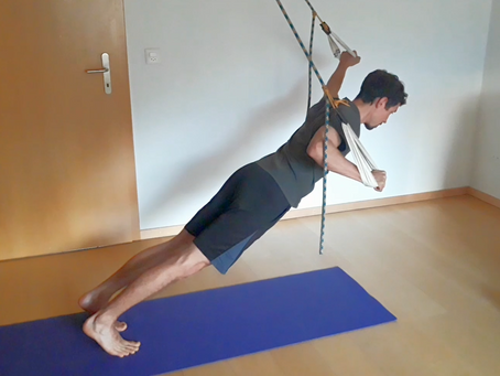 Körperspannung, Fokus vordere Muskulatur