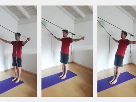 Körperspannung, Fokus hintere Muskulatur