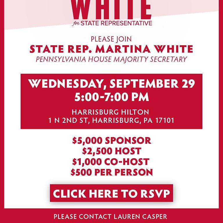 Rep. Martina White's Reception