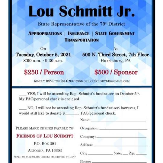 Rep. Lou Schmitt's Breakfast