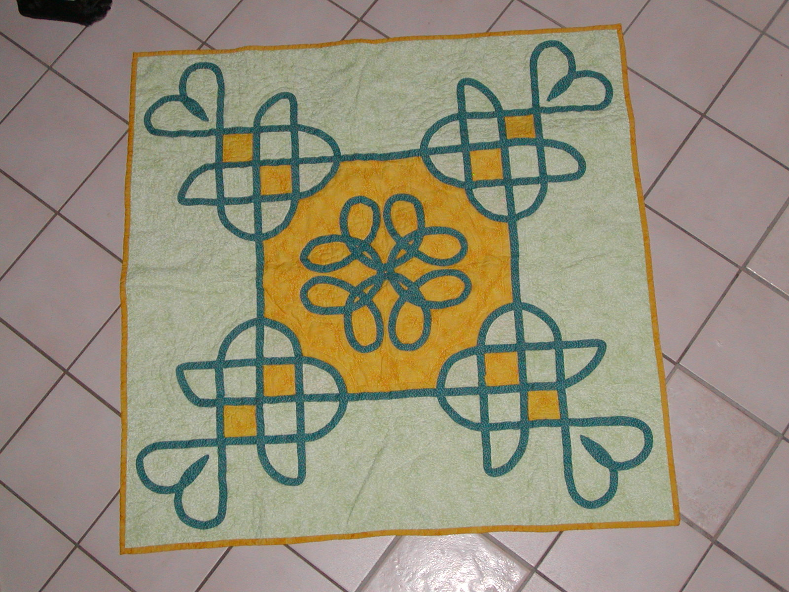 Celtic Wall Quilt
