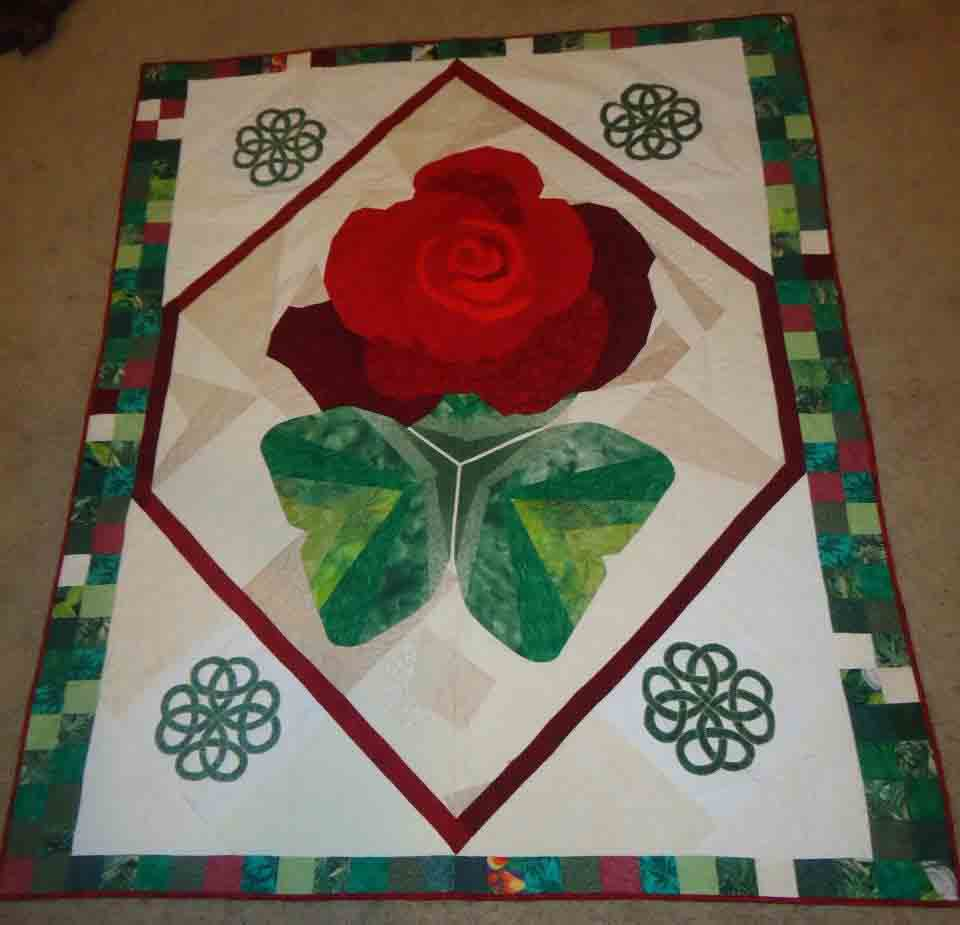 Rob and Kyra's Wedding Quilt