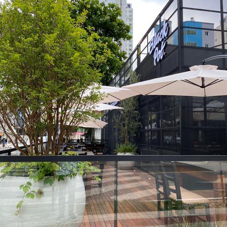 Área Externa Restaurante - Balneário Camboriú