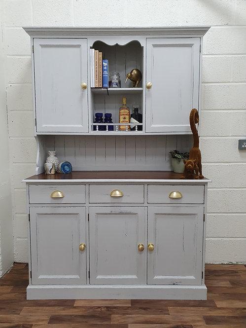 Bernadette Grey Farmhouse Dresser