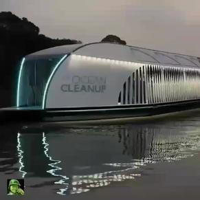 EL INTERCEPTOR: El barco que limpia los ríos para que la basura no llegue al mar