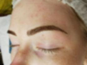 Eyebrow tattoo, semi permanent makeup