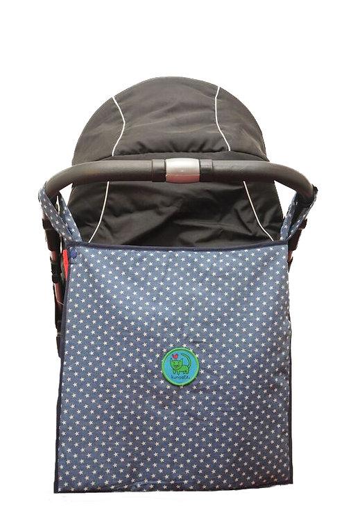 KUNIBAG ♥ multifunktionale Kinderwagentasche und Kinderwagenmuff I Sterne