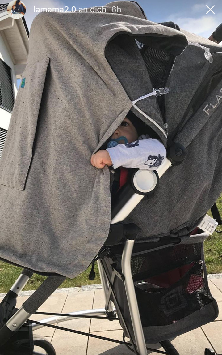 Kunicape, Schlafschutz Kinderwagen, Windschutz Kinderwagen