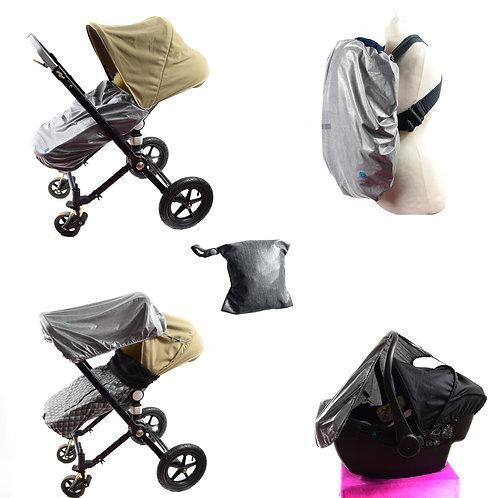 Cover allwetter, regenschutz babytrage,tragecover wetterschutz, baby trage cover, wasserabweisend cover, windschutz baby