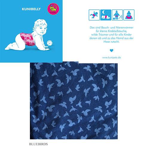 KUNIBELLY ♥ Bio Bauch- und Nierenwärmer ♥ Bluebird