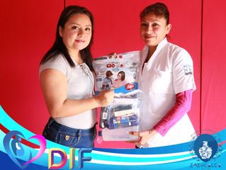 Entrega de Apoyos a Auxiliares de Salud de Zozocolco de Hidalgo