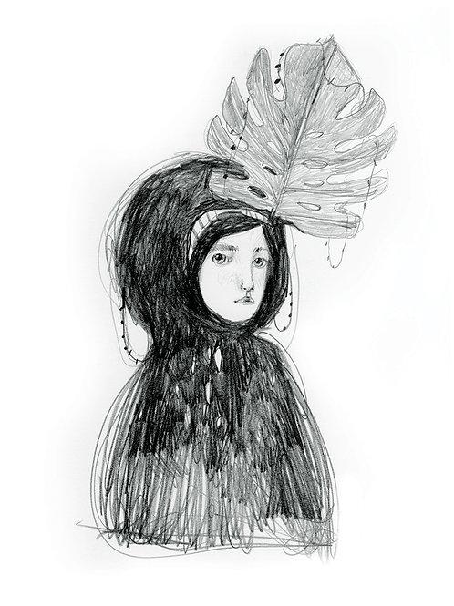 Lady Monstera -  Fine Art PRINTS