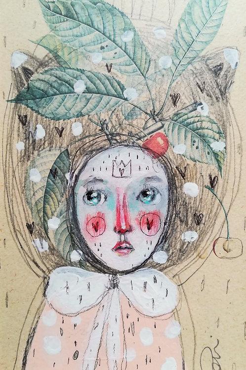 In the cherries