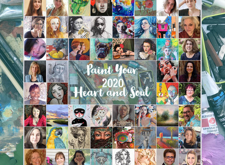 PAINT YOUR HEART AND SOUL GIVEAWAY 2020