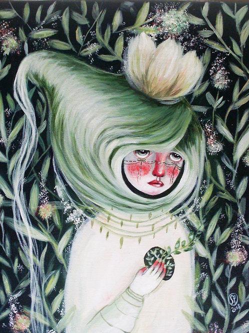 Wrap Me -  ORIGINAL painting