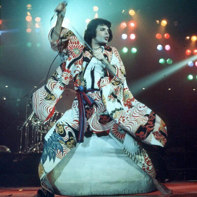 Freddie Mercury Kimono 1970s