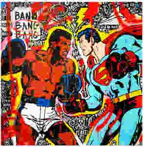 Ali vs Superman by Jisbar