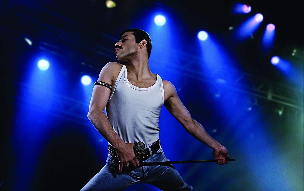 Rami Malek in Bohemian Rhapsody (2018)