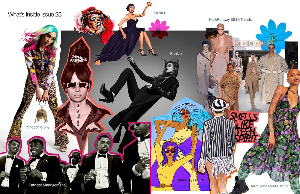 Voir Fashion Magazine Issue 23: What's Inside