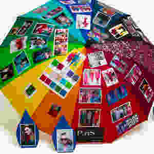 Pantone Passion Umbrella