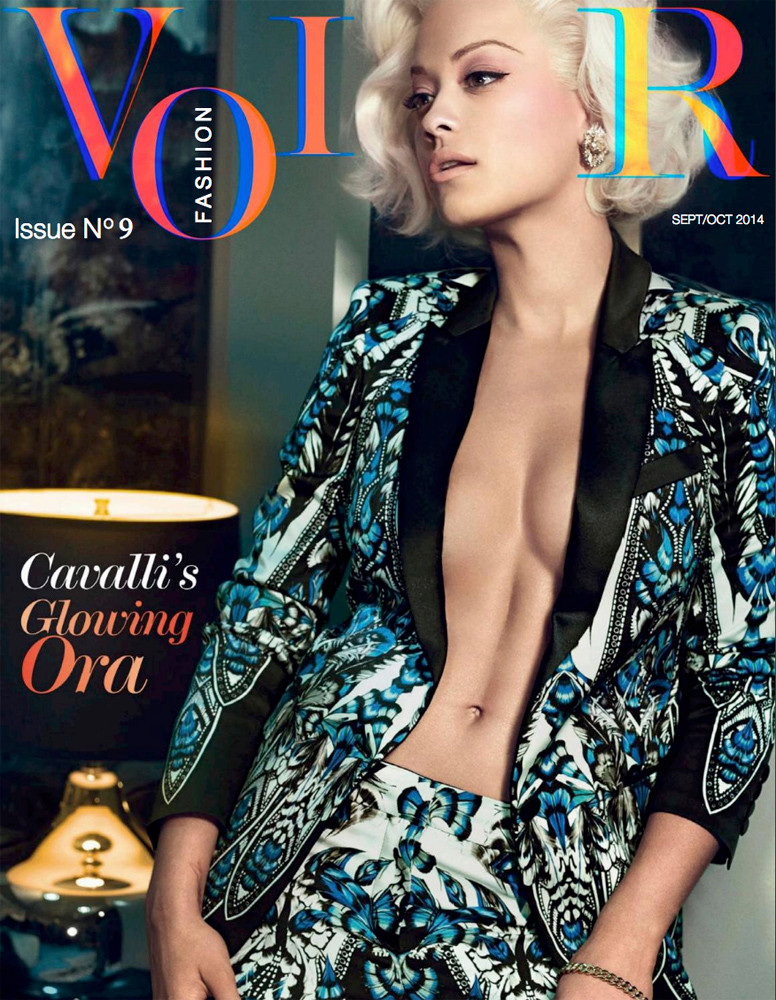 Rita Ora Voir Fashion Issue 9
