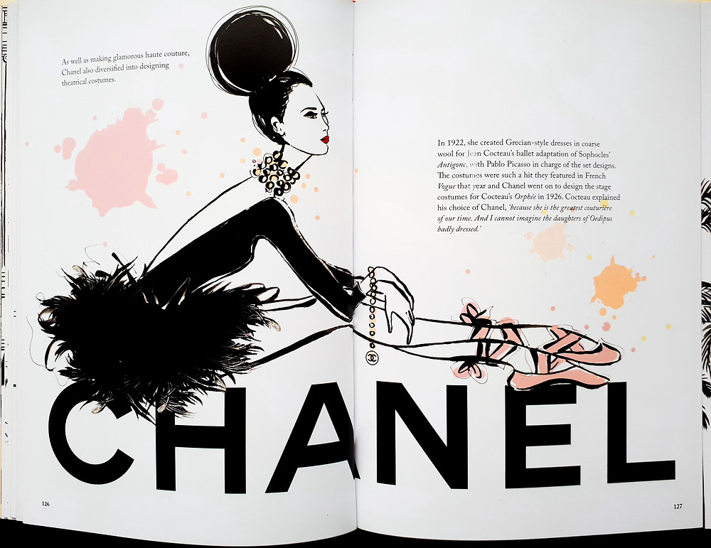 Coco Chanel by Megan Hess