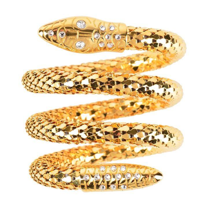 GIUSEPPE ZANOTTI Snake cuff bracelet