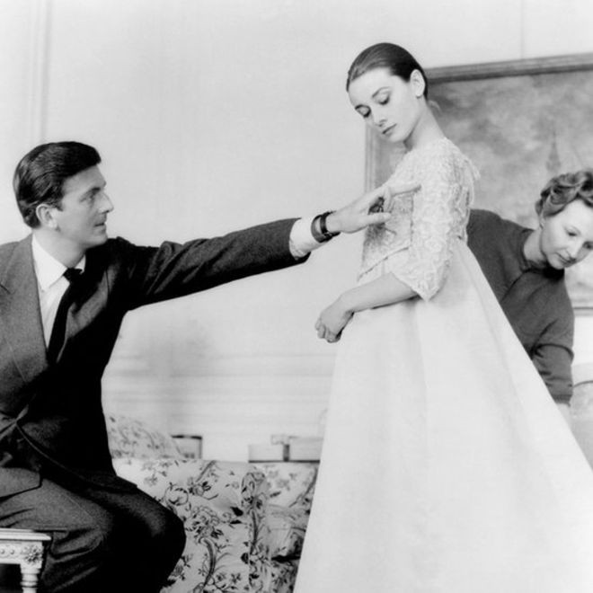 Givenchy styling Audrey Hepburn for the film Sabrina © Almay