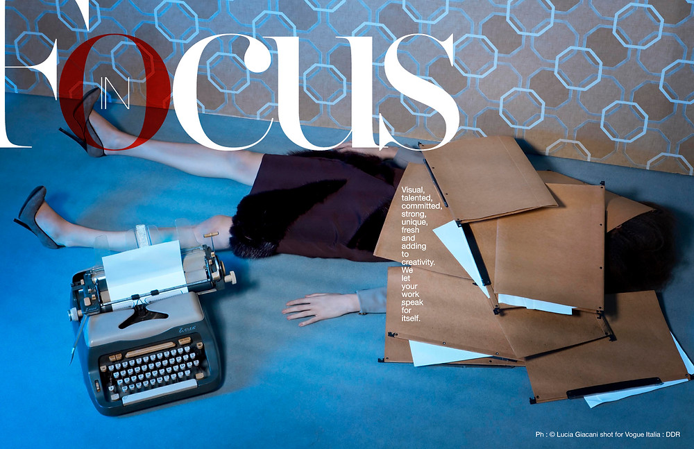 Ph : © Lucia Giacani shot for Vogue Italia : DDR