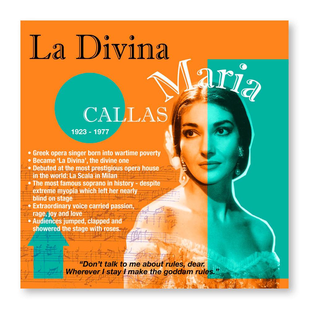 The Notorious Nine: Maria Callas - Voir #20