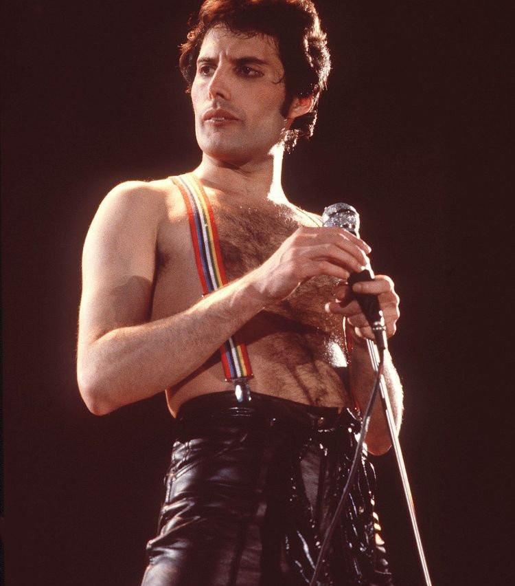 Freddie Mercury suspenders