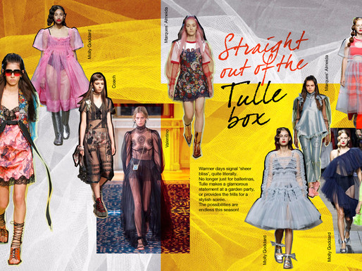 Trend Alert: Straight out of the Tulle Box