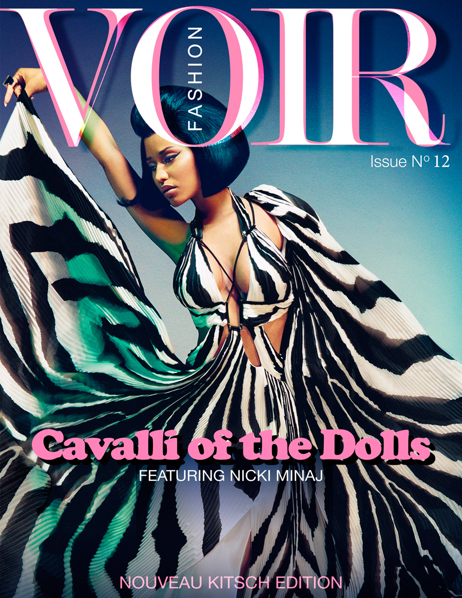 Voir Fashion Issue 12 'Cavalli of the Dolls' cover