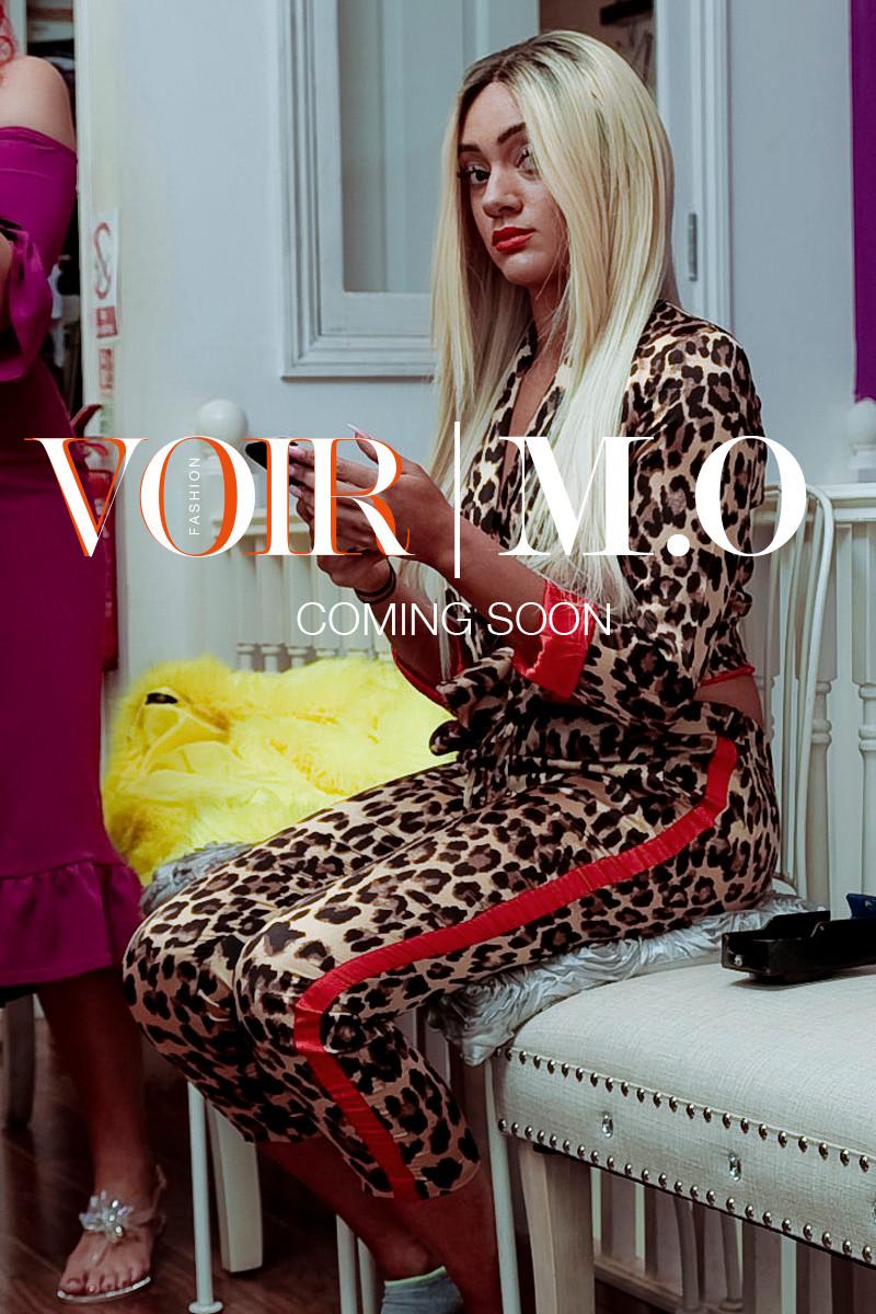 Nadine - M.O backstage at the Voir | M.O collaboration