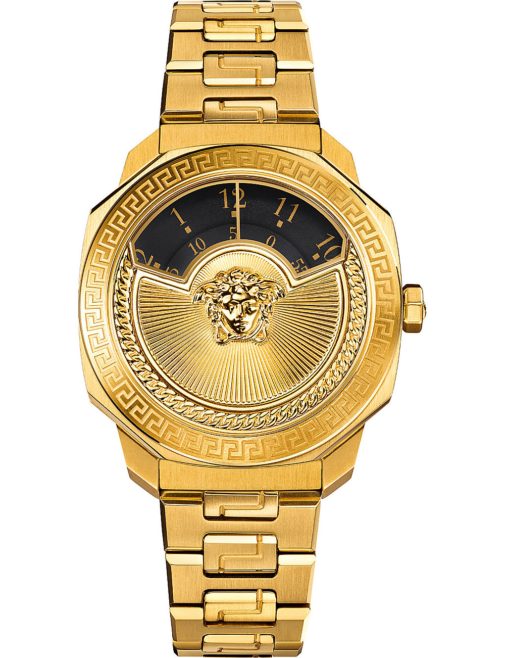 VERSACE VQU05 0015 Dylos gold-toned stainless steel watch
